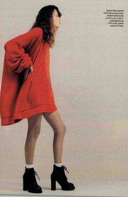 Falke Socks Glamour Magazine September 2016