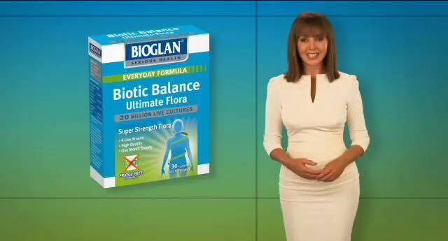 Diva Carol Vordeman Bioglan Biotic Balance  October 2016