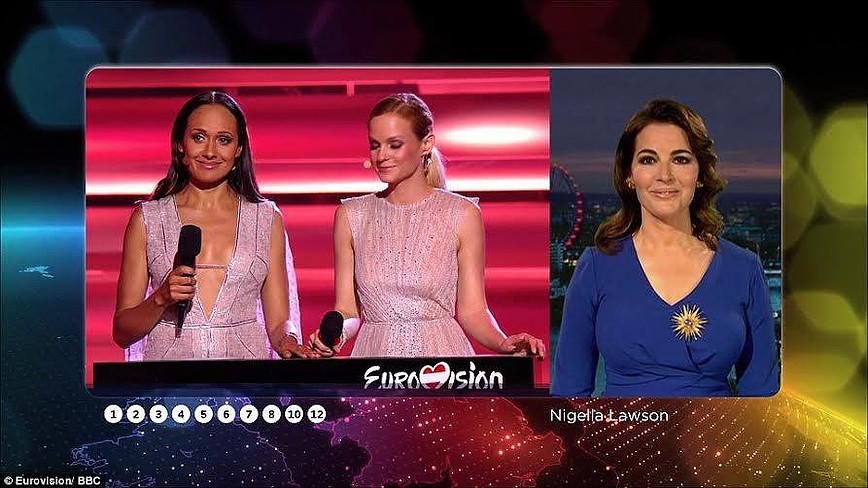 Diva Nigella Lawson Eurovision 2015