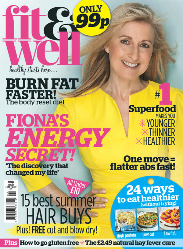 Diva Fit and Well Magazine July 15