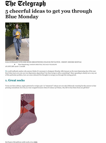 Burlington Marlybone Socks Telegraph.co.uk 18.1.16