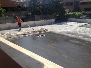 cemento stampato roma resintec