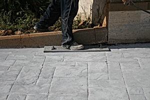 stampi per cemento stampato