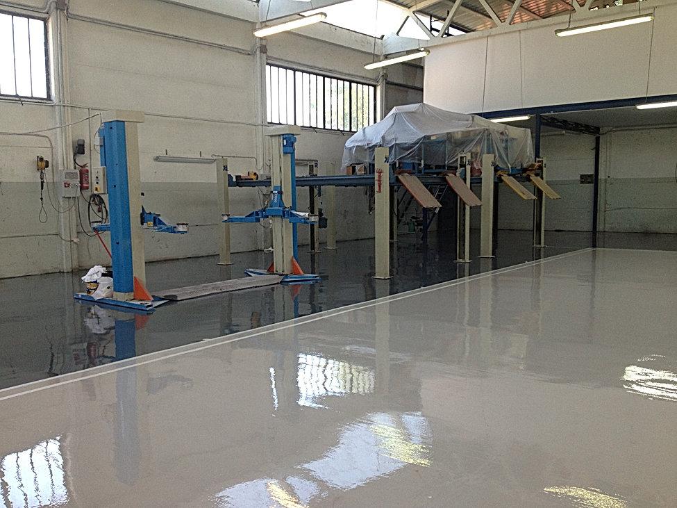 pavimenti industriali e pavimenti stampati
