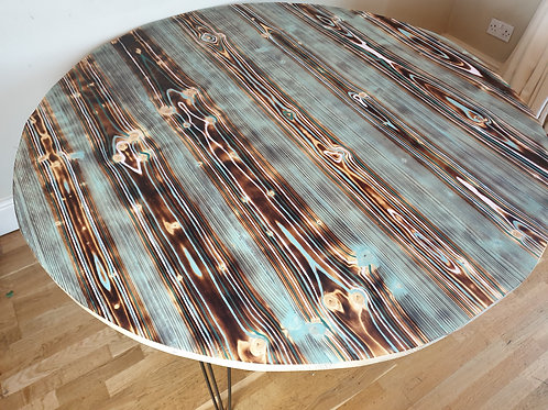 Large Round Evil Eye Dining Table