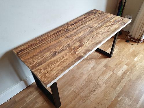 Dark Oak Stained Desk or Dining