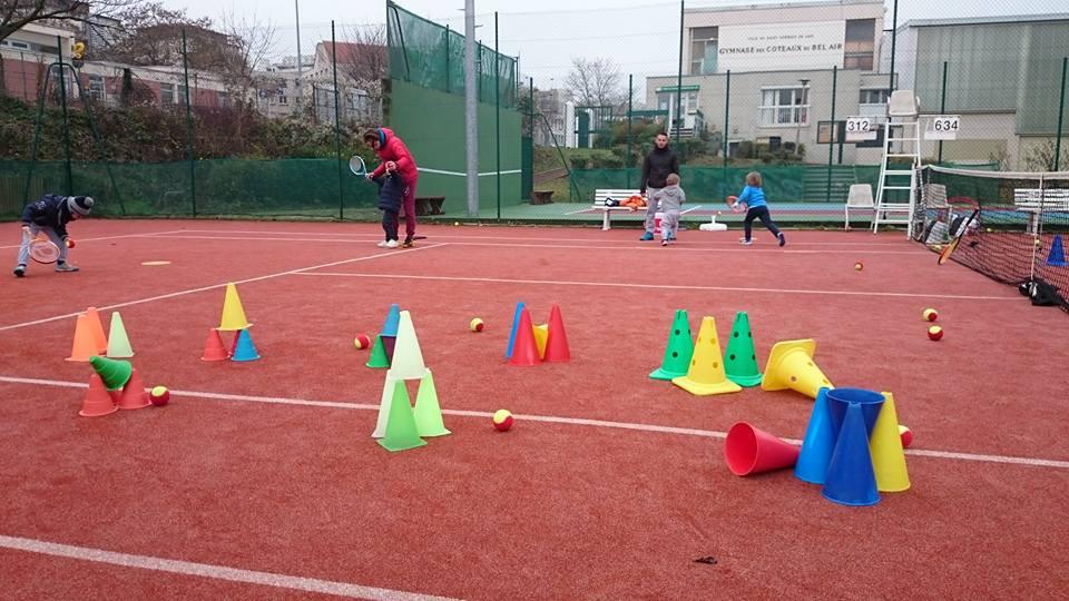 Atelier envoi au mini tennis
