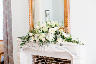 Flowers on the Mantle