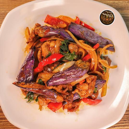 Sauteed Asian Eggplant