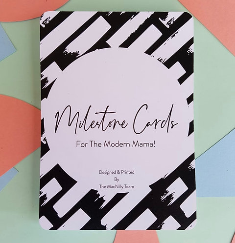 Milestone Cards - For the modern mama