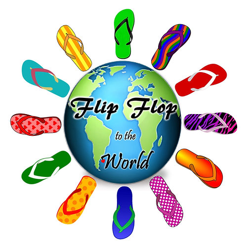 Flip Flop to the World SIGNATURE T-SHIRT