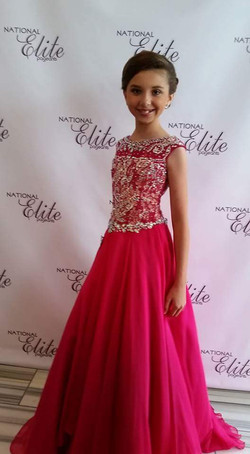 3rd Runner Up Pre-Teen division - Tx Elite pageant - May 2016.jpg