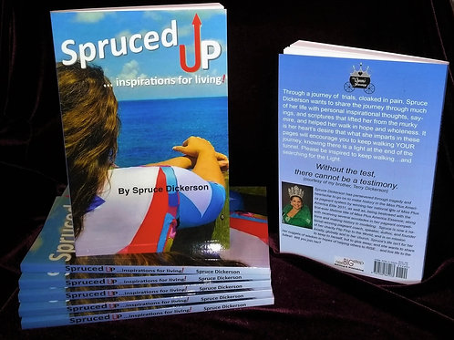 BOOK:  Spruced UP ...inspirations for living!