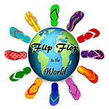 Flip Flop to the World logo