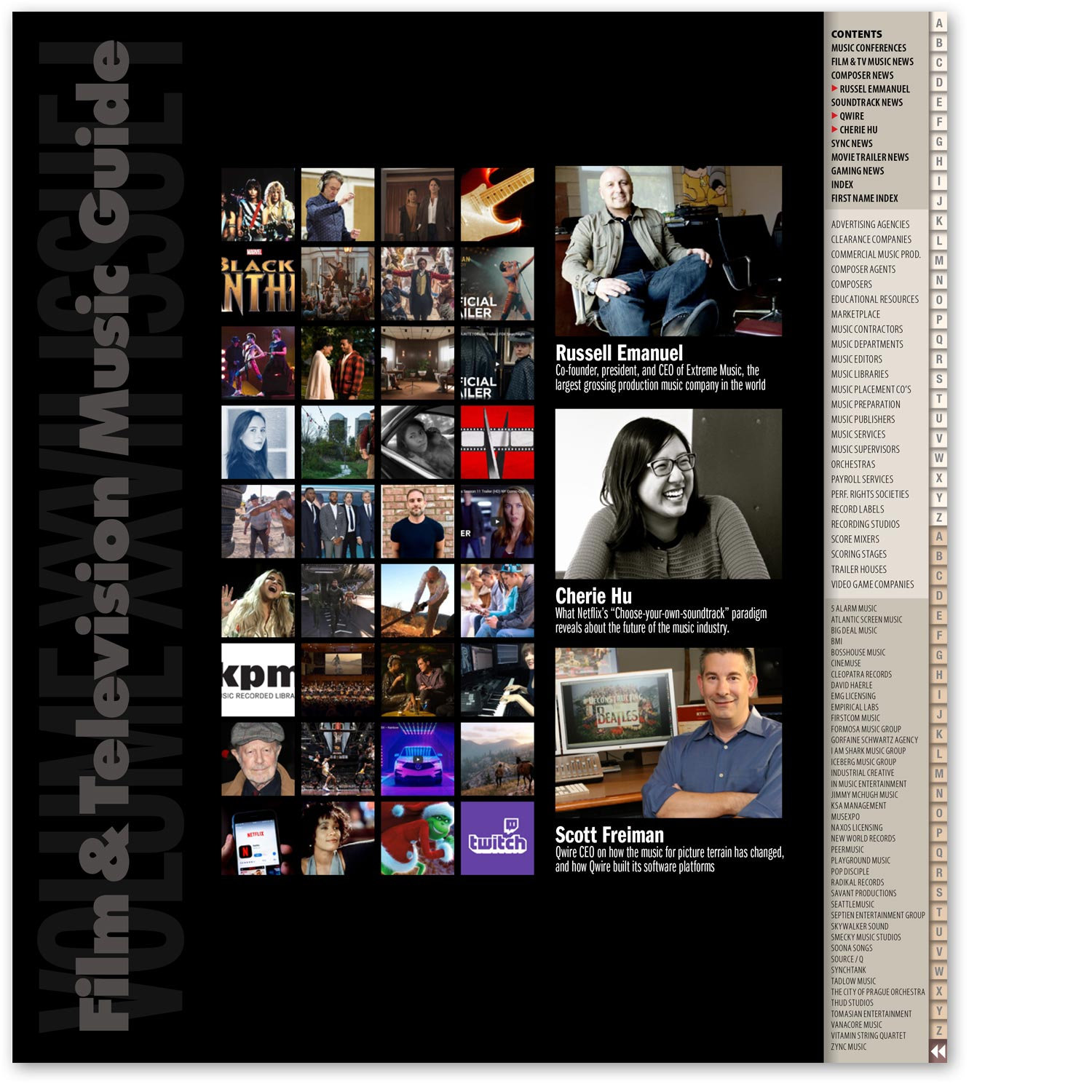 Film & Television Music Monthly — 12 pdf issues