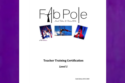 Level 1 Instructor Training Workbook - Digital