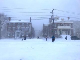 Blizzard in Salem, Dental Office Closed, March 13