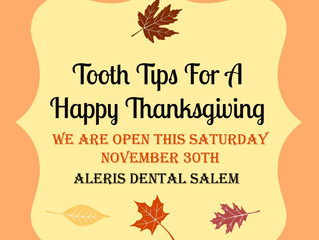 Tips for a Tooth-Friendly Thanksgiving