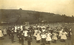 School (County Primary) soon after opening in 1910.