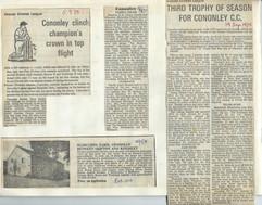 1975 Cricket trophies.