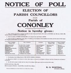 1961 Parish Council election.