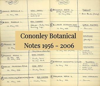 Cononley Botanical Notes 1956-2006