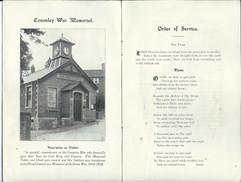 1921 Dedication of CVI Memorial.