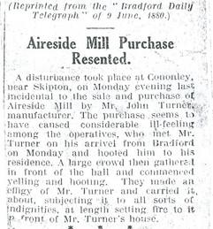 1880 Mill disturbance.