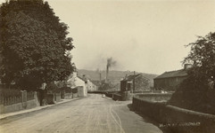Main Street, near the bridge, early 20th c.