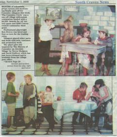 2000 The Cononley Circle play.