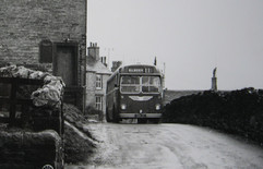 Cross Hills Road about 1960.