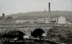 Aire Bridge and Aire Side Mill 1906.