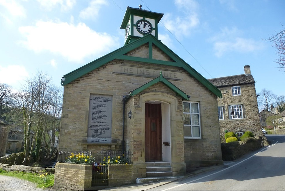 Village Institute building on a sunny day!