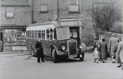 Busy local bus service, later 1950s.