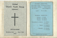 1963 United Church Youth Group.