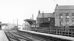 Station, goods yard and Mill, early 20th c.