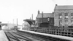 Station, goods yard and Mill - early 20t