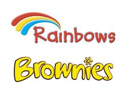 rainbows-brownies
