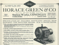 1923 Horace Green and Co. advert.