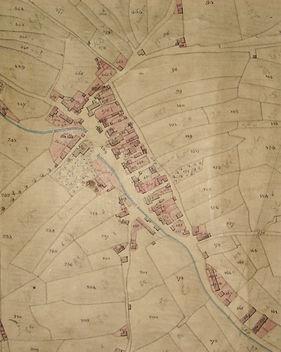 1842 Tithe Award map detail