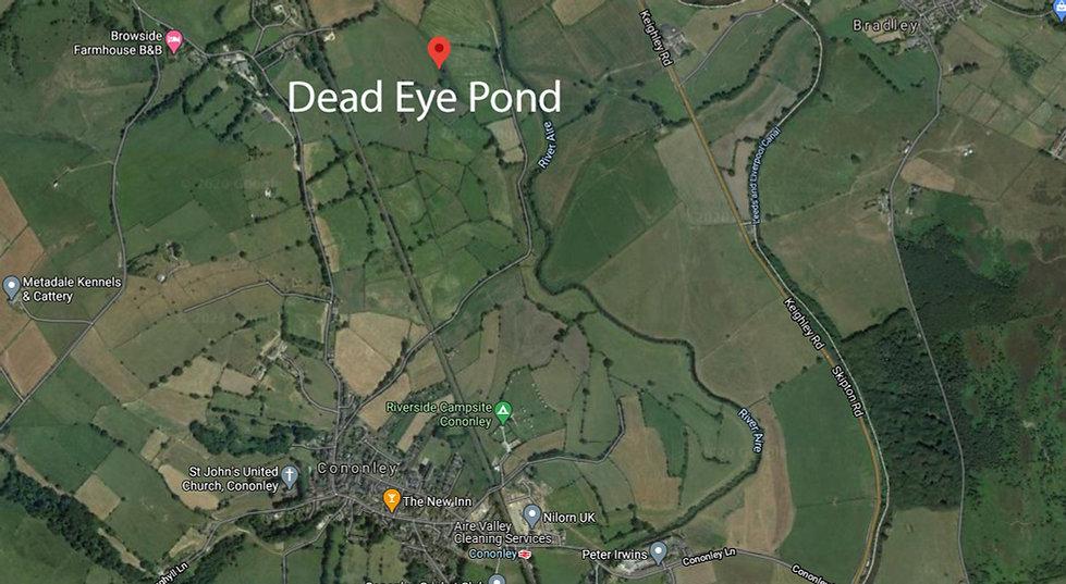 Cononley Dead Eye Pond Map