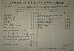 1865 National School accounts.