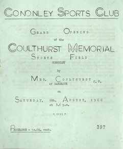 1966 Sports Club field opening.
