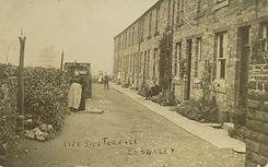 Aire Side Terrace picture from early 20th century