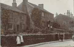 Main Street opposite the Hall, early 20th c.