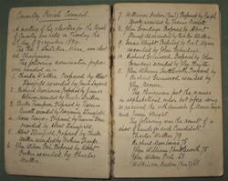 1894 Parish Meeting elects first parish councillor