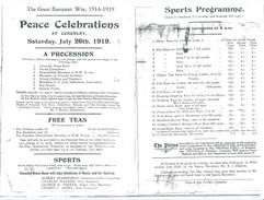 1919 Peace celebration.