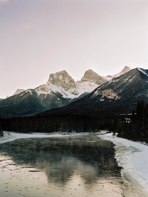 The Three Sisters - Canmore, Canada