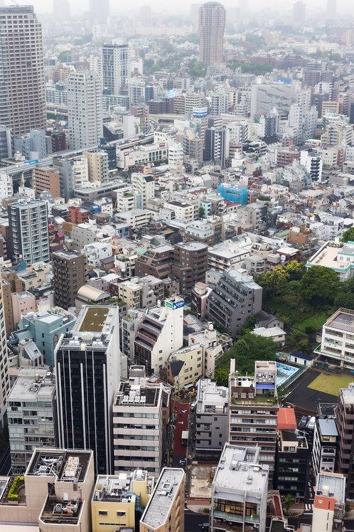 Cityline of Tokyo - Tokyo, Japan