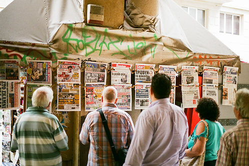 Newsstands, Greece
